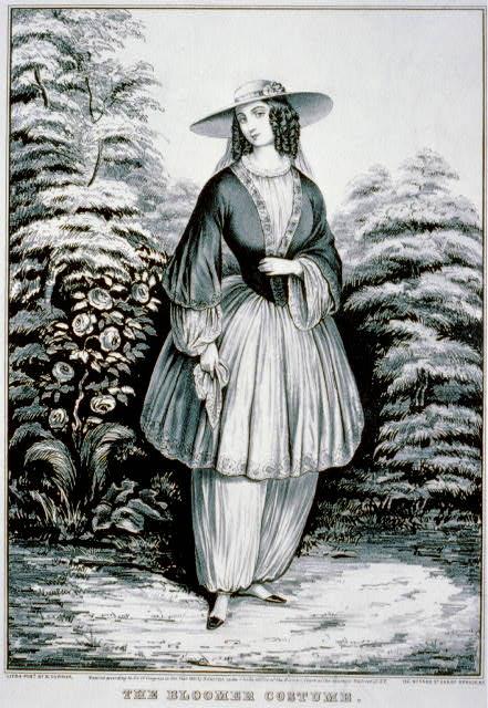 Amelia Bloomer Costume Rational Dress