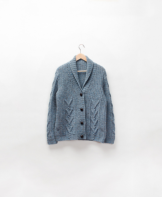 Brooklyn Tweed's Bellows Cardigan by Michele Wang