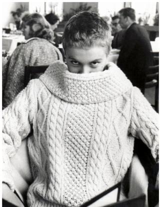 Jean Seberg (my haircut idol!) in 1959
