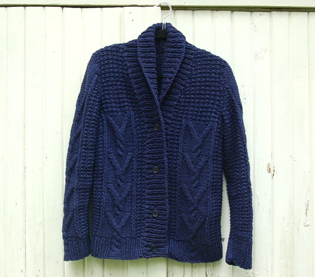 Bellows Cardigan FO Front Brooklyn Tweed