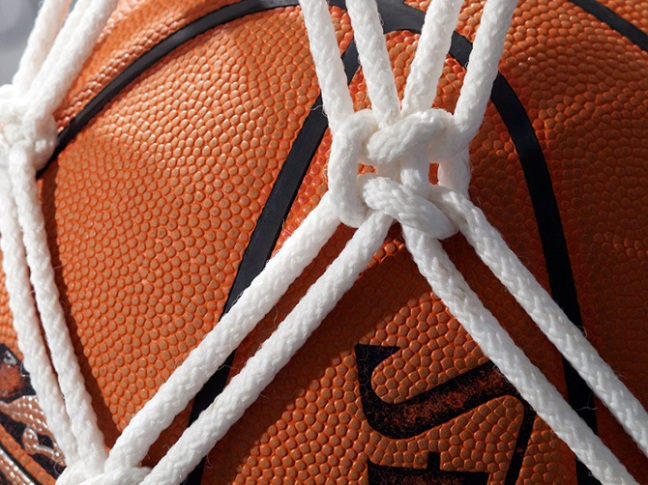 Hazel Meyer Basketball Net Knot Close-Up