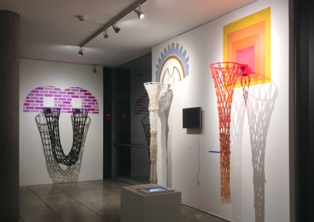 Maria Molteni's Crocheted Basketball Hoops